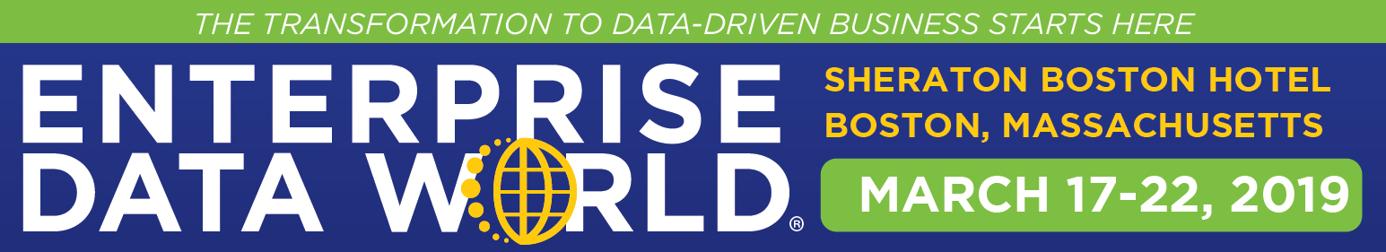 Enterprise Data World 2019   Boston